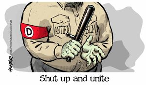 Shut up and unite