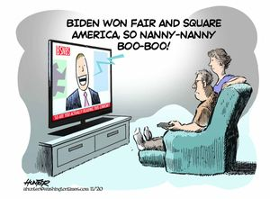 Biden won fair and square ...