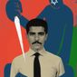 Illustration on an assassination in Iran by Linas Garsys/The Washington Times