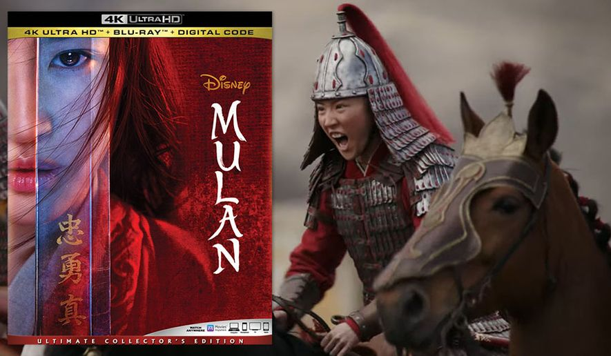 "Yifei Liu in ""Mulan,"" now available on 4K Ultra HD from Walt Disney Studios Home Entertainment."