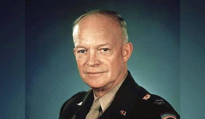 Dwight D. Eisenhower, shown here in 1945, was a five-star general in the U.S. Army, and served as the 34th president from 1953-1961. (U.S. Archives)