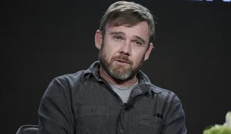 """In this Jan. 5, 2017, photo, Ricky Schroder attends the """"AUDIENCE Documentaries"""" panel at the Direct TV portion of the 2017 Winter Television Critics Association press tour in Pasadena, Calif. (Photo by Richard Shotwell/Invision/AP) **FILE**"""