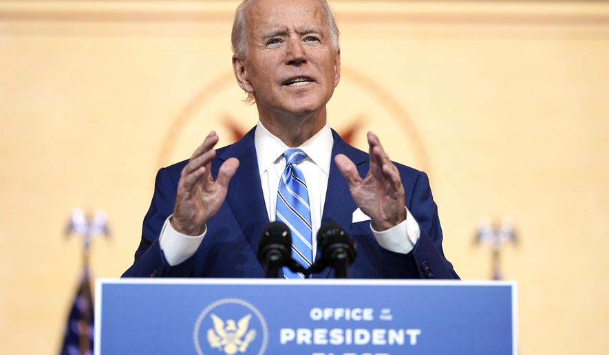 "Conservative columnist Ben Shapiro is warning that ""Biden's return to normalcy is going to be terrible"" regarding the presumptive president-elect's policies and leadership style. (Associated Press)"