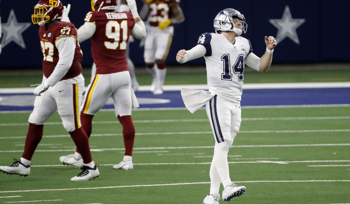 Washington's defense stifles Cowboys, particularly in red zone