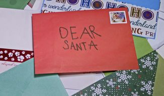 """This image released by IFC Films shows a scene from the documentary """"Dear Santa."""" (IFC Films via AP)"""