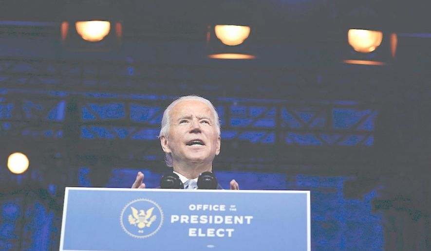 Presumed President-elect Joseph R. Biden's plans to bring two dogs and a cat to the White House was covered a lot by media outlets. Conservative media criticized this as the election hasn't been finalized. (Associated Press)