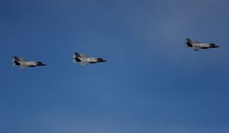 The Senate this week is expected to vote on whether to block a $23 billion weapons sale to the United Arab Emirates, including 50 cutting-edge F-35 Joint Strike Fighter jets valued at over $10 billion. (ASSOCIATED PRESS)