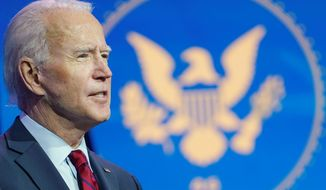 Presumed President-elect Joseph R. Biden's administration is making plans to reach out to conservatives. Some conservatives are skeptical. (Associated Press)