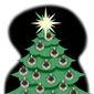 Illustration on COVID19 and Christmas by Alexander Hunter/The Washington Times