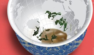 Biden choices and China illustration by The Washington Times