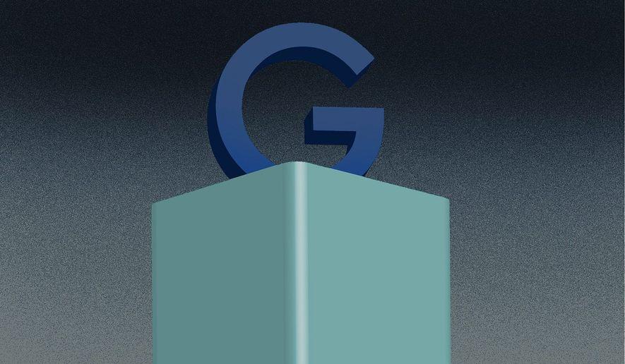 Illustration on Google by Linas Garsys/The Washington Times