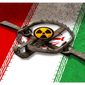 Illustration on the Iran nuclear deal by Alexander Hunter/The Washington Times