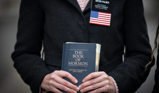 The Church of Jesus Christ of Latter-day Saints said it added a section on prejudice to its General Handbook. The handbook is a spiritual guide for the world's 16 million LDS followers. (Associated Press)