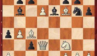 Dubov-Karjakin after 18...Be6.