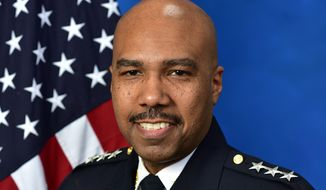 Robert J. Contee III, shown here, will serve as the new acting chief of the Metropolitan Police Department, D.C. Mayor Muriel Bowser announced on Dec. 22, 2020. (Photo courtesy the Metropolitan Police Department)