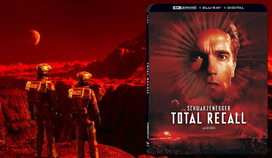 "A fresh look at Mars in ""Total Recall,"" now available on 4K Ultra HD from Lionsgate Home Entertainment."