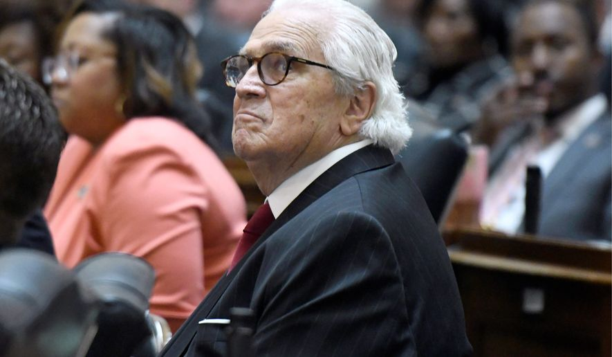Former Maryland Senate President Thomas V. Mike Miller announced his retirement on Wednesday. Mr. Miller cited his health as the reason. (Associated Press)