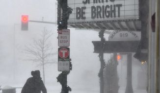 Forecasters are warning that a powerful storm on Thursday could affect the eastern region of the U.S. The storm is likely to bring snow, rain and strong wind gusts. The widespread rain coupled with the nor'easter last week could lead to rapid snowmelt, adding to flooding concerns. (ASSOCIATED PRESS)