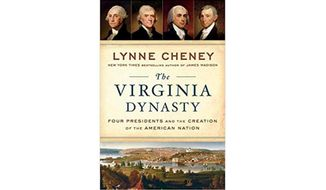 Virginia Dynasty by Lynne Cheney (book cover)