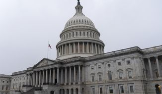 The U.S. Capitol is seen, Thursday, Dec. 24, 2020, in Washington. (AP Photo/Jacquelyn Martin) ** FILE **