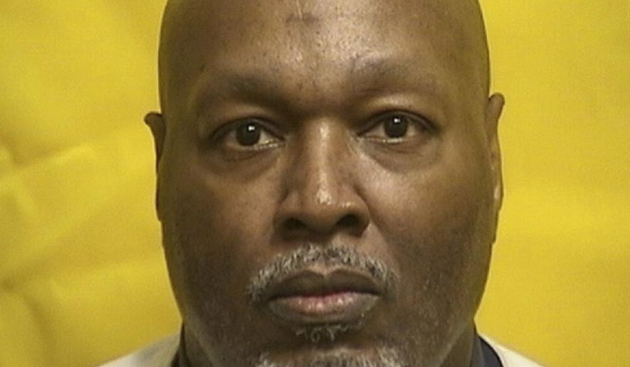 This undated photo provided by the Ohio Department of Rehabilitation and Correction shows death row inmate Romell Broom, an Ohio death row inmate who survived a botched execution attempt in 2009, who died Monday, Dec. 28, 2020, from possible complications of COVID-19, the state prisons system said. (Ohio Department of Rehabilitation and Correction via AP)