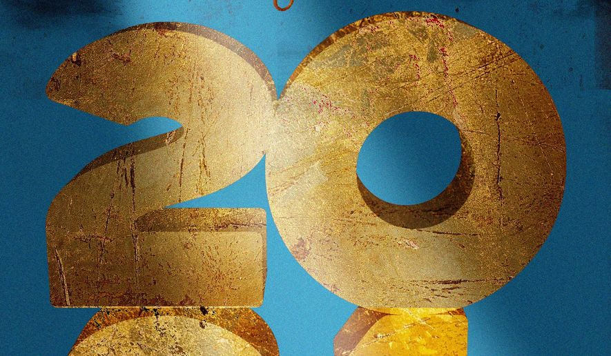 Illustration on the upcoming year  by Linas Garsys/The Washington Times