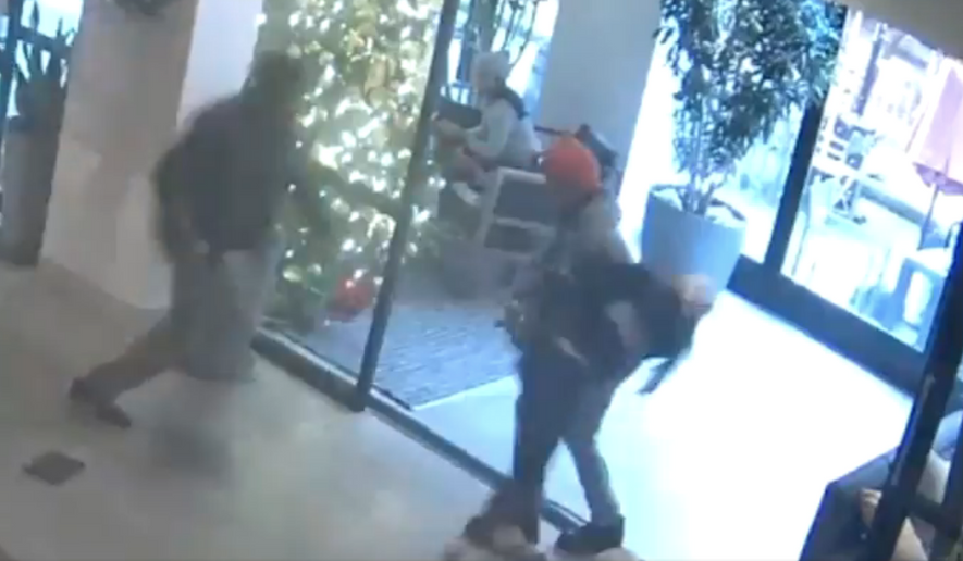On Saturday, December 26, the woman in this video falsely accused an innocent 14-year-old teenager of stealing her cellphone. She then proceeded to physically attack him and fled the location before police officers arrived on scene, tweeted Chief Rodney Harrison, NYPD Chief of Detectives.