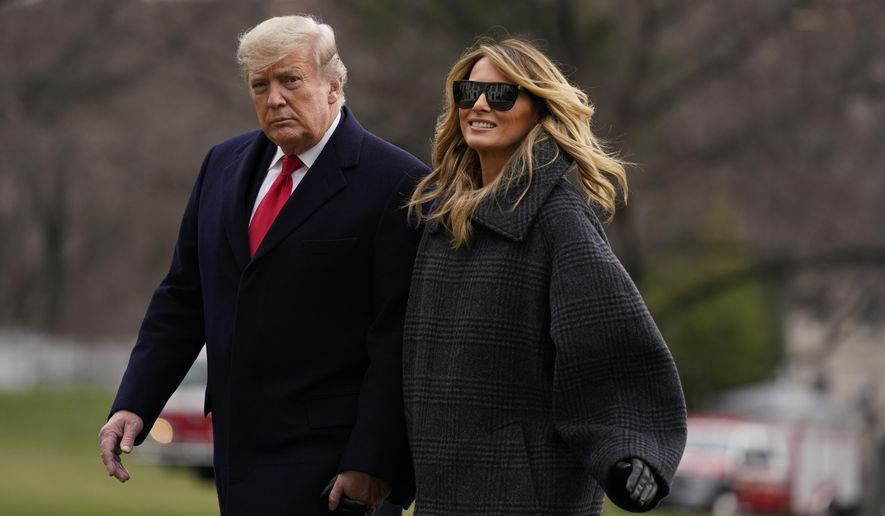 Trump returns to White House early, offers year-end message Trump_88878_c0-224-5367-3353_s885x516