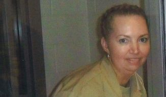 This undated file image provided by her attorneys shows Lisa Montgomery. (Attorneys for Lisa Montgomery via AP)