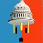 Illustration on reducing bureaucracy by Linas Garsys/The Washington Times