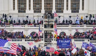 China, Iran and Russia criticized the U.S. after a group of pro-Trump forces stormed the Capitol. Some U.S. voices fretted openly that the siege presented a propaganda windfall for foreign adversaries. (ASSOCIATED PRESS PHOTOGRAPHS)