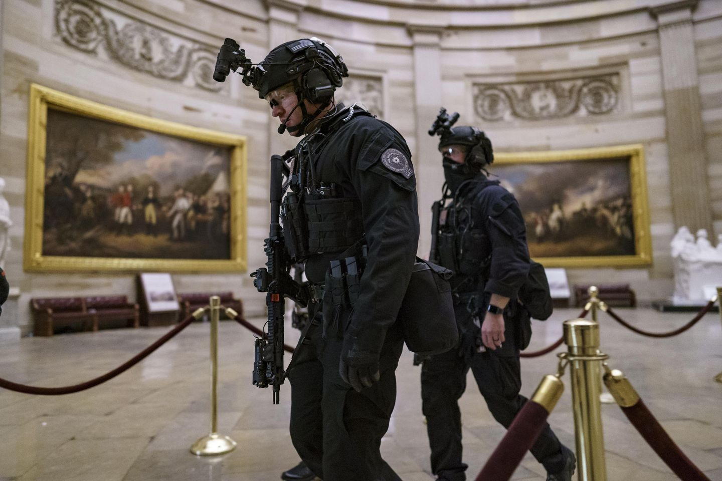 Secret Service official: 'No-fail mission' underway to ensure safe inauguration