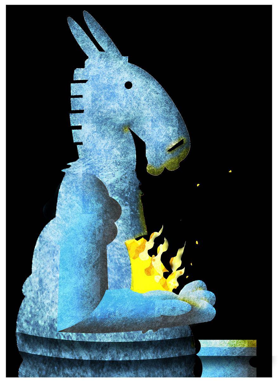 Illustration on Democrats' rule by Alexander Hunter/The Washington Times