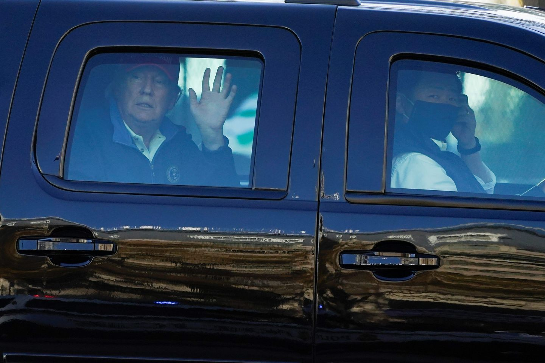 Donald Trump, Washington to bid bitter goodbye
