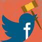 Social media conundrum  illustration by The Washington Times
