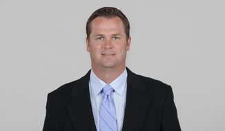 In this 2013 photo provided by the Seattle Seahawks is Scott Fitterer, at that time an executive with the team. The Carolina Panthers NFL football team hired Fitterer on Thursday, Jan. 14, 2021, to become their new general manager. (Seattle Seahawks via AP)