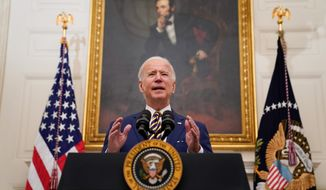 President Biden fired Peter Robb as general counsel of the National Labor Relations Board after taking office last Wednesday. (Associated Press)