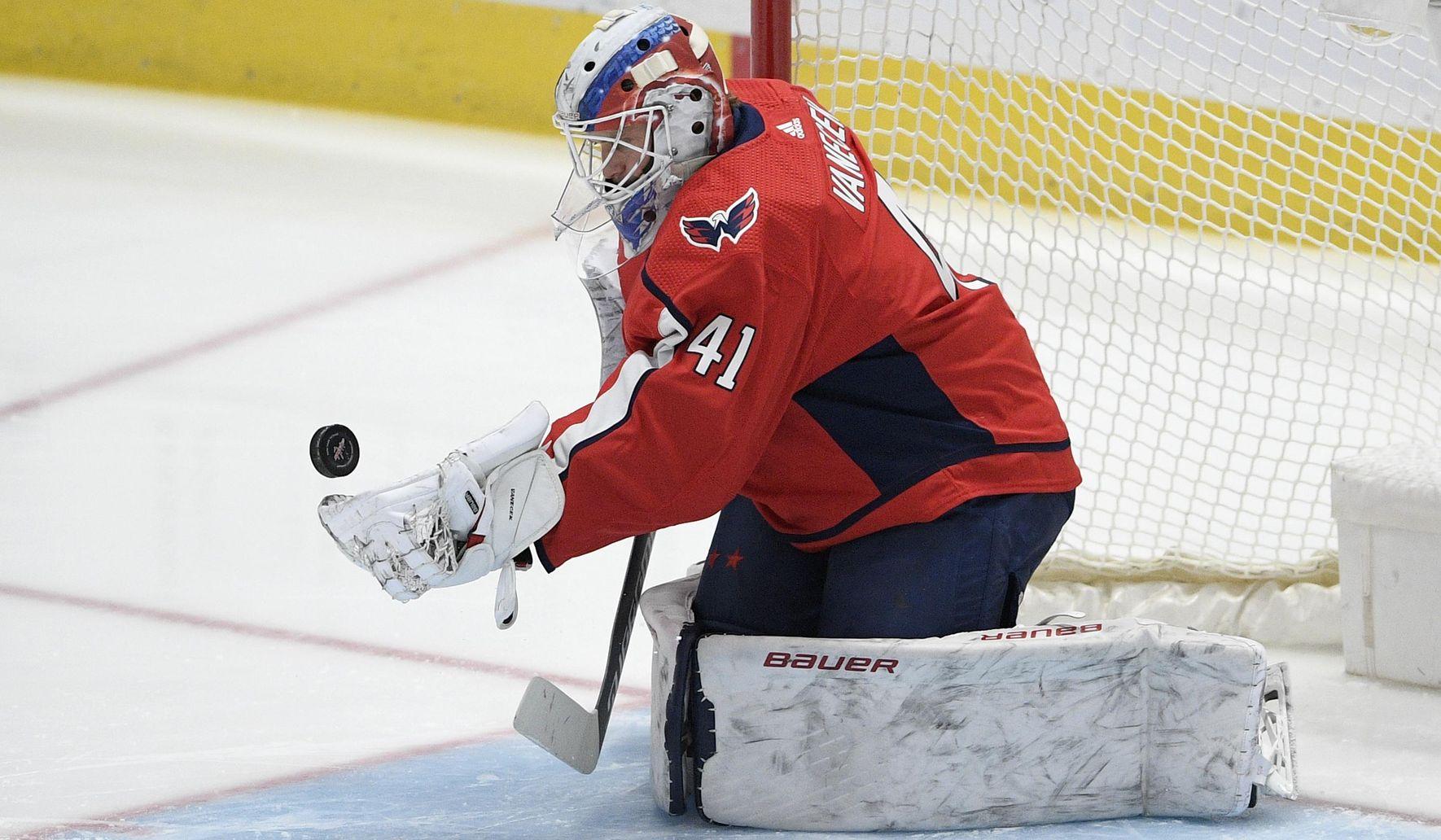 Capitals reunite with Vitek Vanecek, trading second-round pick to Kraken