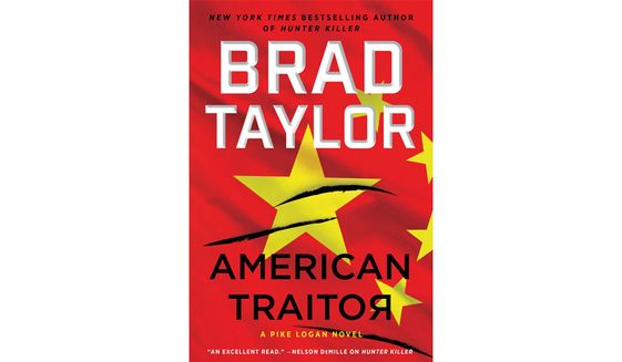 AMERICAN TRAITOR By Brad Taylor (book cover)