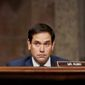 Sen. Marco Rubio criticized the Jan. 26 withdrawal of a Trump administration rule that would have required American schools and universities to disclose agreements with Confucius Institutes. (Associated Press/File)