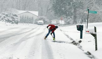 Cold weather causes vessels and arteries to constrict, meaning less oxygen is delivered to organs, said Dr. Federico Asch, a MedStar Health physician and board president for the American Heart Association. (Richmond Times-Dispatch via Associated Press)