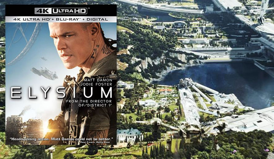 """An overview of """"Elysium,"""" now available on 4K Ultra HD from Sony Pictures Home Entertainment."""