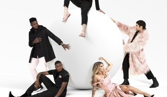 """This cover mage released by RCA Records shows """"The Lucky Ones"""" by Pentatonix. (RCA via AP)"""