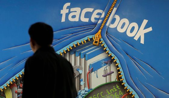 Facebook is one of the technology giants accused of manipulating the advertising market, hurting newspapers and other print media along the way. Doug Reynolds, founder and managing director of HD Media, is fighting back with a federal lawsuit. (Associated Press)