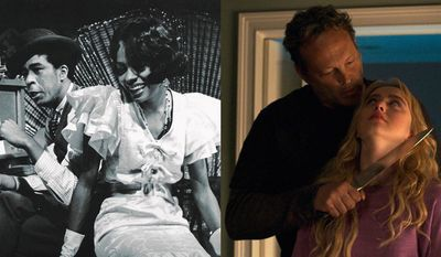 "Richard Pryor and Diana Ross in ""Lady Sings the Blues"" and Kathryn Newton and Vince Vaughn in ""Freaky,"" now available in the Blu-ray format."
