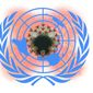 Illustration on the UN and COVID by Alexander Hunter/The Washington Times