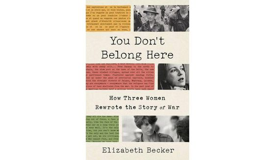 You Don't Belong Here by Elizabeth Becker (book cover)