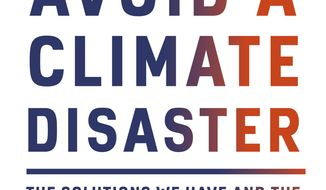 """This cover image released by Knopf shows """"How to Avoid Climate Disaster: The Solutions We Have and the Breakthroughs We Need"""" by Bill Gates. (Knopf via AP)"""