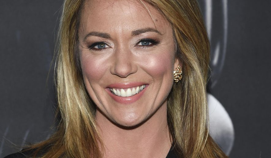 "CNN news anchor Brooke Baldwin attends the premiere of ""Molly's Game"" on Dec. 13, 2017, in New York. (Photo by Evan Agostini/Invision/AP)  ** FILE **"