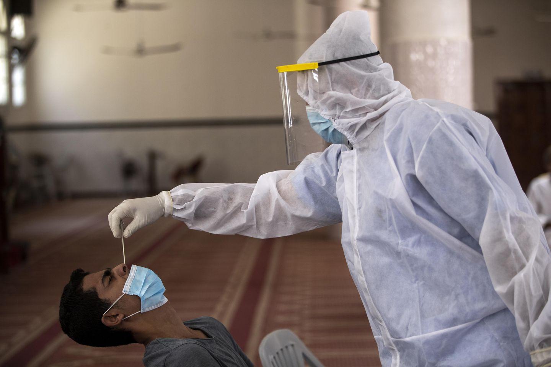 After delay, Israel allows vaccines into Hamas-run Gaza